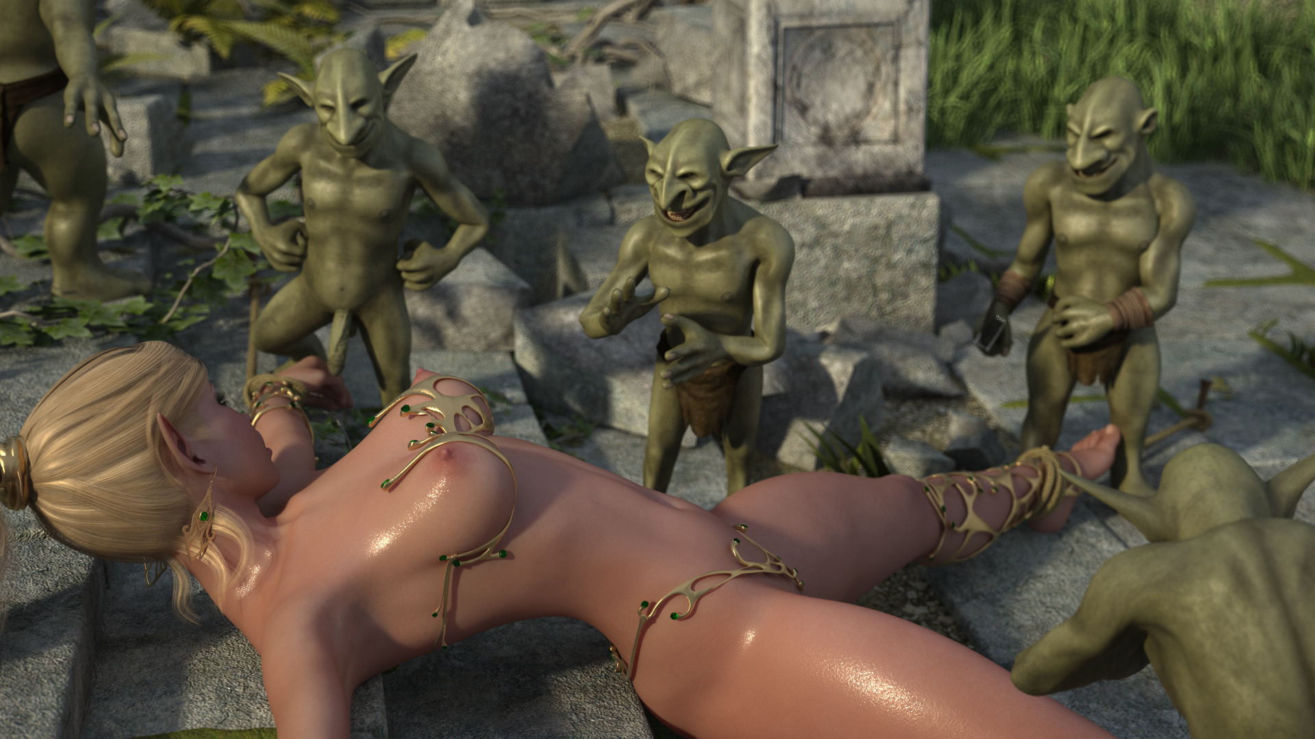Gnomes gang bang orc exploited images