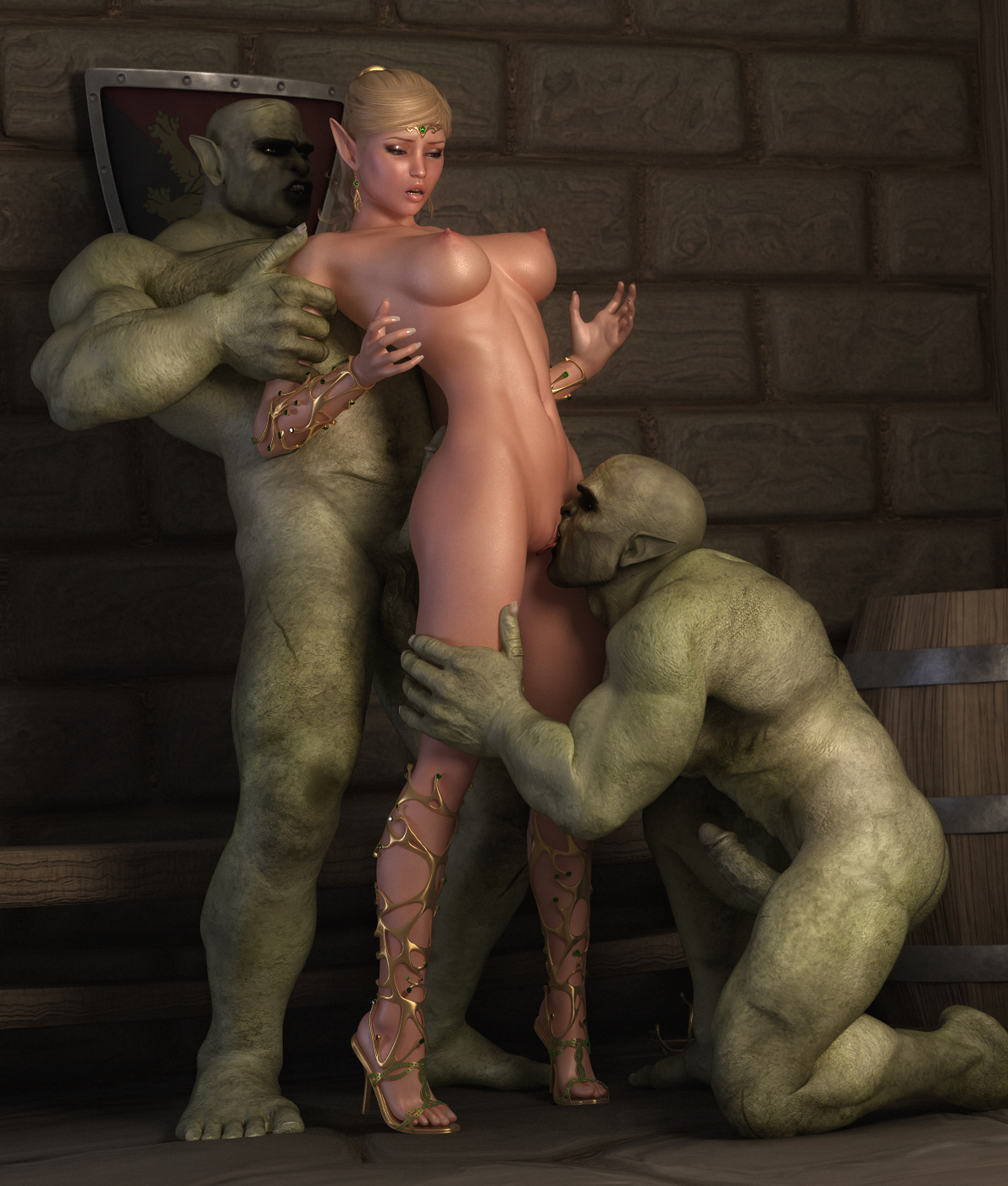Видео секс гоблин