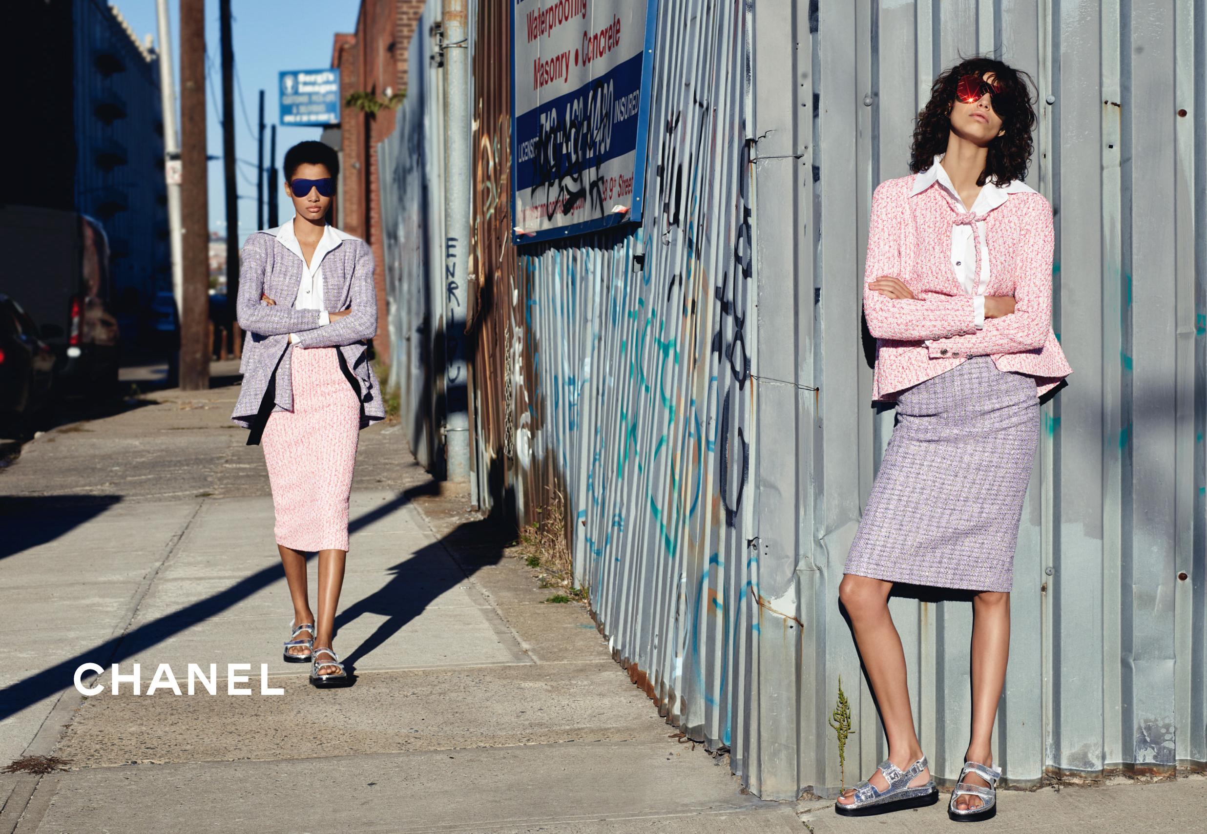 Chanel рекламная кампания весна-лето 2016 glam.