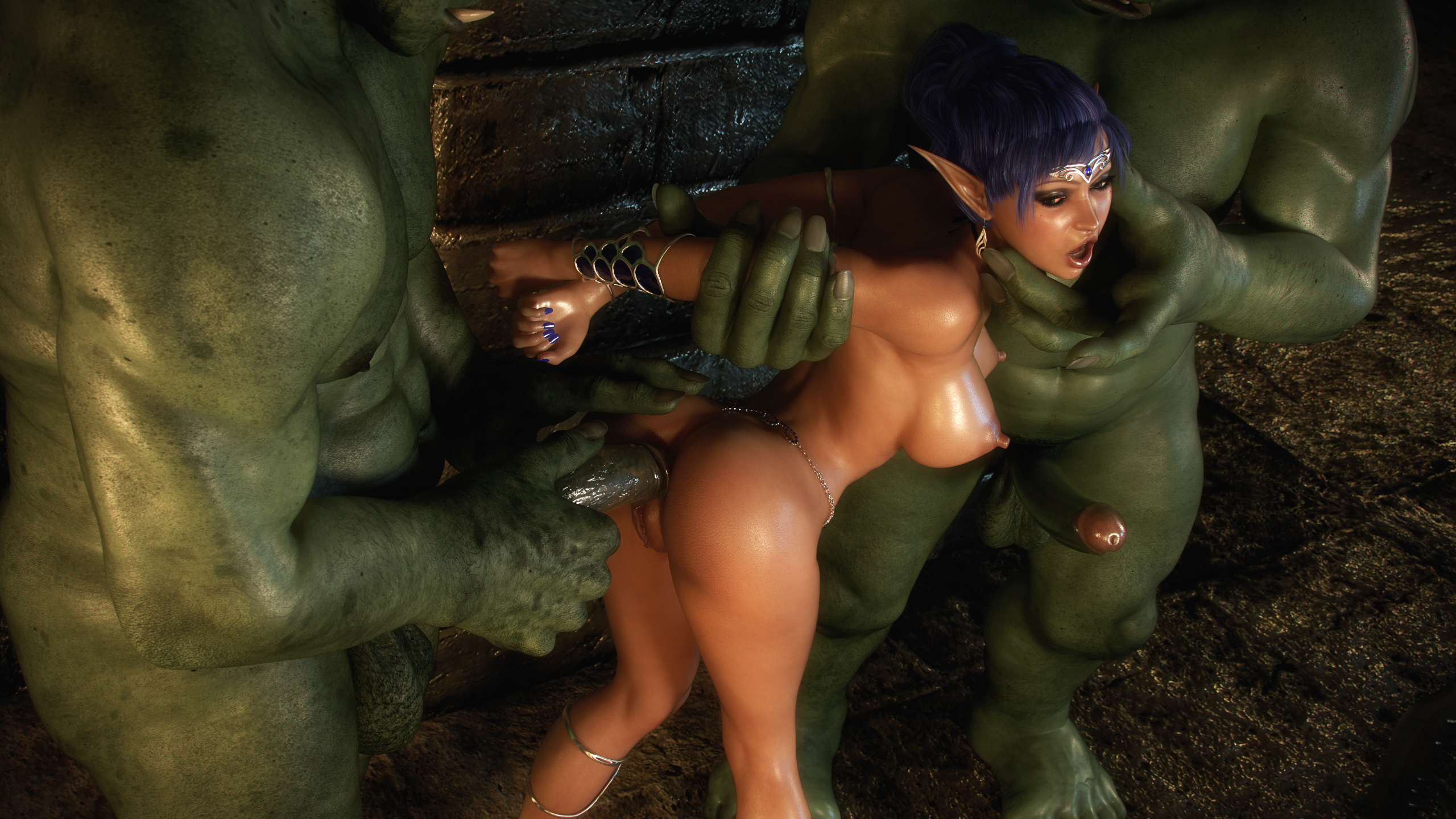 3d elf orc dungeon pics adult tube