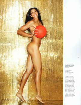 Candace Parker Body Issue