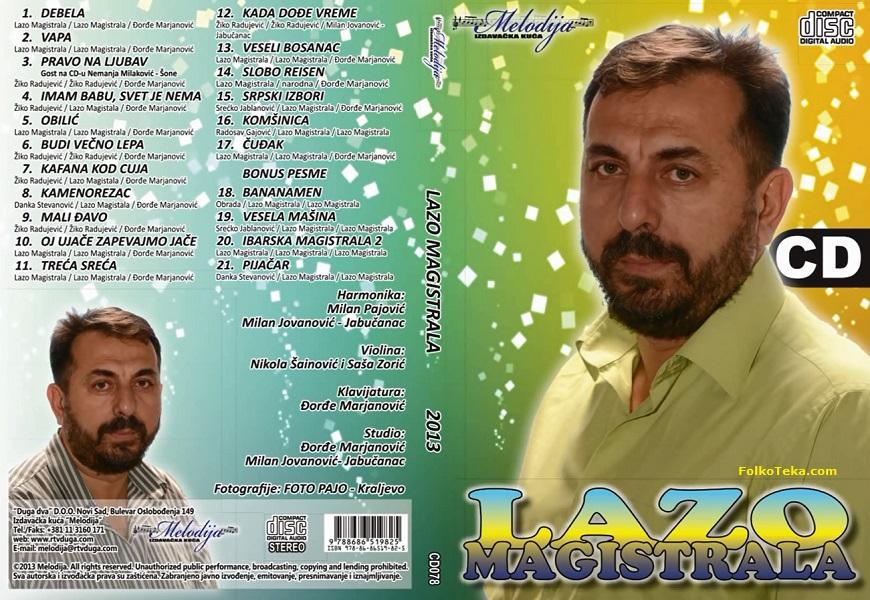 Lazo Magistrala 2013 Debela