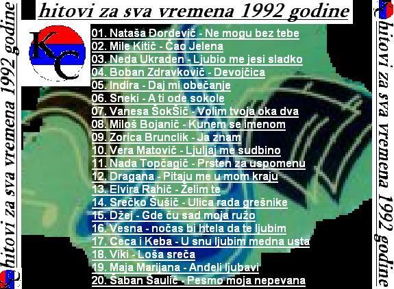 Hitovi 1992 b