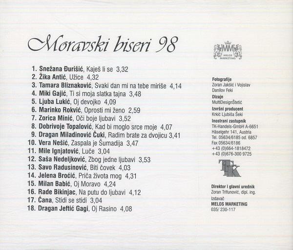 1998 Moravski Biseri 98 2